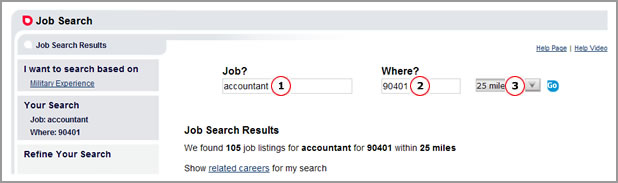 Job Search Results Top2