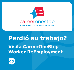Click to download Spanish version of ReEmployment DOLETA Logo
