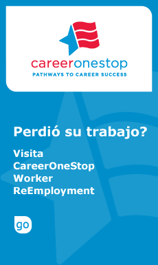 Click to download Spanish version of ReEmployment Health Care Logo