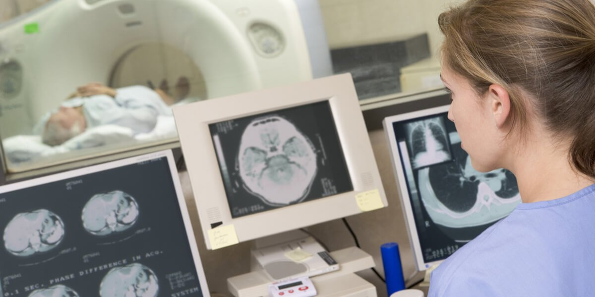 Radiologic technologist | U.S. median hourly wage: $26.54 | U.S. total employment: 240,800 | Projected job growth to 2022: +21% | Typical training: associate's degree