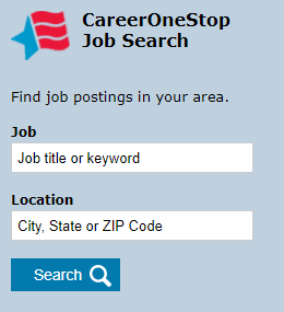 Job Finder Widget